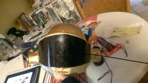How to Make a Daft Punk Thomas Helmet - Instructables
