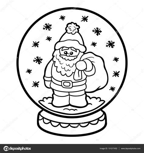 Kerstman Rendier Kleurplaat by Kerstman Kleurplaat