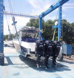 Service Boat Yard by Carolina Nc Boat Yard Service Boat Yacht
