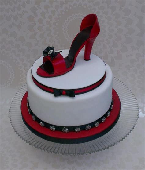 Peachy Shoe Birthday Cake Recipe Birthday Cards Printable Benkemecafe Filternl