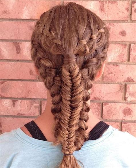 busy  sporty hairstyles