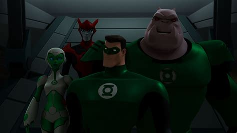 green lantern animated series review so ends the green lantern animated series