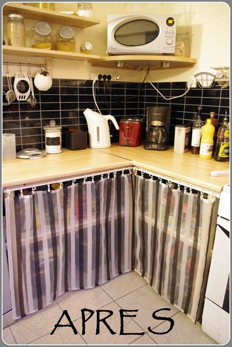couture rideaux de cuisine