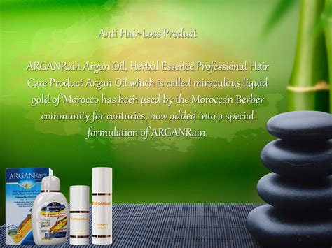 Arganrain Sulfate Alcohol Free Anti Hair Loss Product