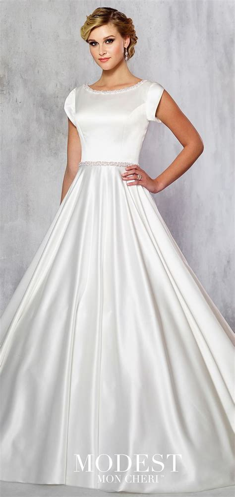 Modest By Mon Cheri Fall   Ee  Wedding Ee   Dresses World Of