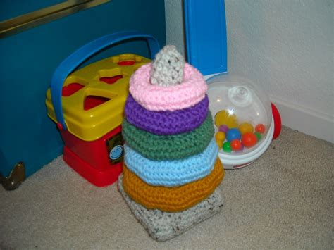 crochet stacking toy httplometscom