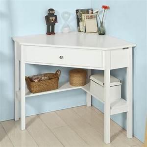 Table D Angle : meuble d angle bureau bureau petite largeur lepolyglotte ~ Teatrodelosmanantiales.com Idées de Décoration