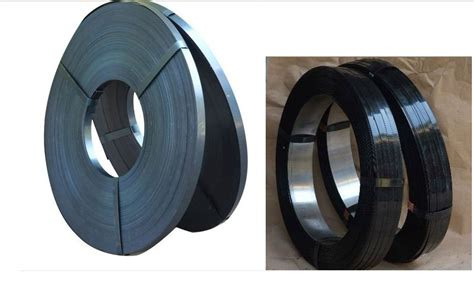 hard blue steel strapping packing strip galvanized steel strappingspet high strength plastic