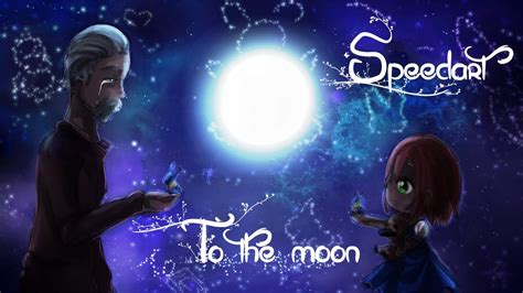 Speedart To The Moon Fanart Youtube