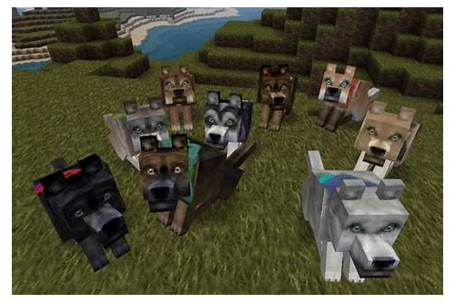 minecraft dog texture pack download