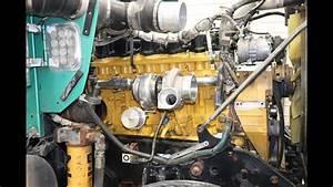 Caterpillar C15 Twin Turbo To Switchblade Single Turbo