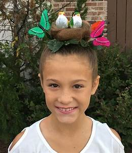 Bird's nest for crazy hair day | Kids Ideas | Pinterest ...