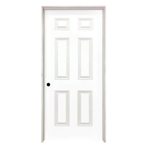 Steves & Sons 24 In. X 80 In. 6-panel Smooth Hollow Core