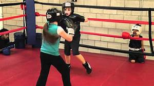 Little Girl  U0026quot Alexis U0026quot  Beats Up Older Boy In Boxing Gym Round 2