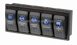 4x4 Custom Off Road Rocker Switch With Labels - Buy Off ...