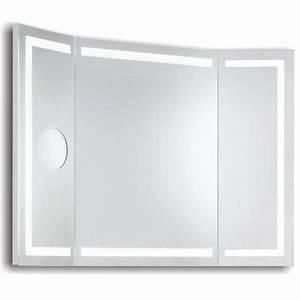 Miroir Lumineux Led : miroir lumineux led de salle de bains miami l 1 achat ~ Edinachiropracticcenter.com Idées de Décoration