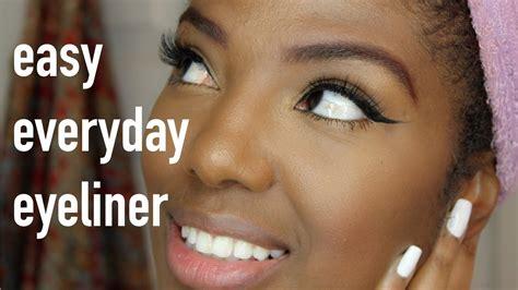 Easy Everyday Liquid Eyeliner For Beginners