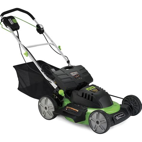 """Steele 20"""" 24 Volt Cordless Electric Self Propelled Lawn"""
