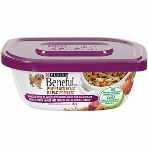 purinar benefulr prepared mealstm simmered beef flavour dog With prepared dog food