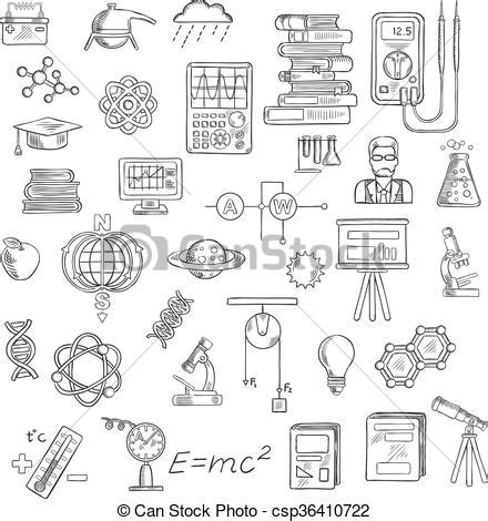 physics chemistry  astronomy science sketches physics