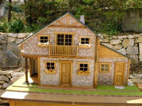le chalet rustique mes miniatures