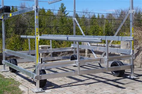 Boat Lift Prices Ontario by Yamaha Floe Pontoon Lift 2016 New Boat For Sale In Midland