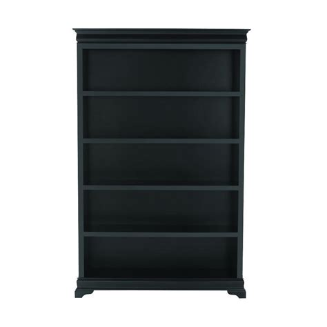 Bookcases At Home Depot by Home Decorators Collection Louis Philippe Black 47 5 Quot W 5