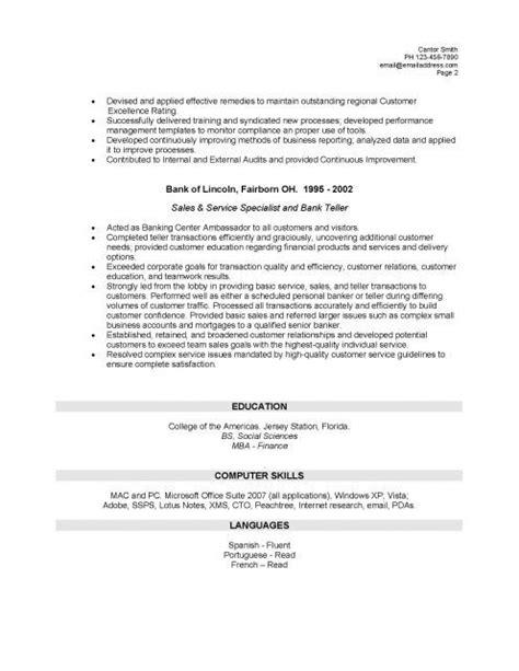 teller description for resume hsbc teller resume sales teller lewesmr