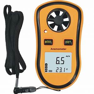 Hand Held Wind Speed Anemometers  S-am82