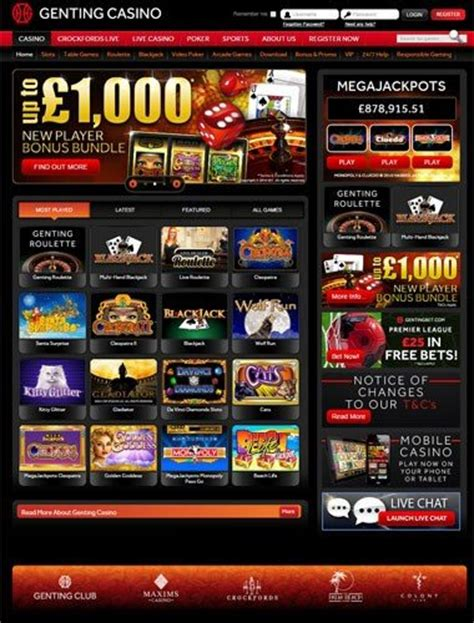 Free Android Slots  Genting Online Casino  £1000 Free