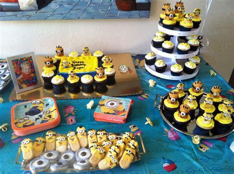 minion birthday bash   year  loved  theme