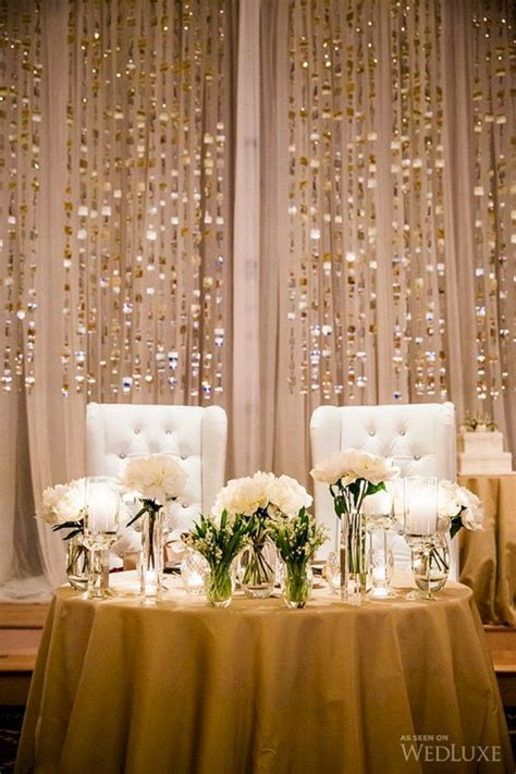 Wedding Head Table Backdrops and Decorations OOSILE