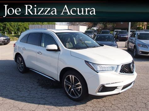 new 2017 acura mdx with advance package sport utility in orland park ah1206 joe rizza acura