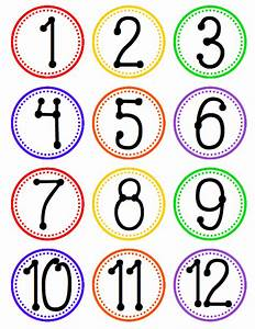 flapjack educational resources hanging fan labels for With circle number labels
