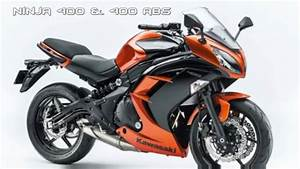 Kawasaki Ninja 400 : new 2017 kawasaki ninja 400 and 400 abs changes color graphics youtube ~ Maxctalentgroup.com Avis de Voitures