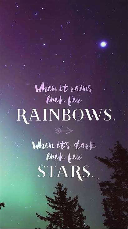 Mobile Phone Inspirational Wallpapers Rainbows Crosscards Screen