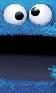 Cookie Monsters - cute #bigface cartoon iPhone wallpaper ...