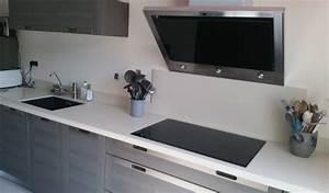 plan de travail cuisine blanc cuisine plan de travail With meuble cuisine blanc laque 12 cuisine en chene laque grise meubles lebreton