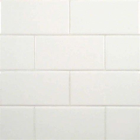 3x6 white subway glossy ceramic transitional wall and