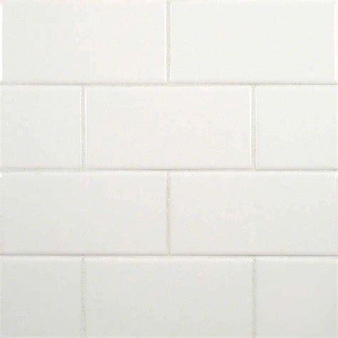 white subway glossy ceramic transitional wall