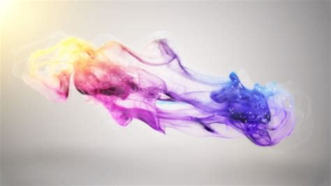 color dust create this picturesque color dust logo reveal intro