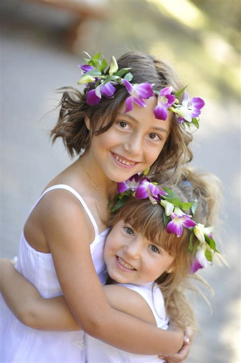 curly hairstyles for flower girls