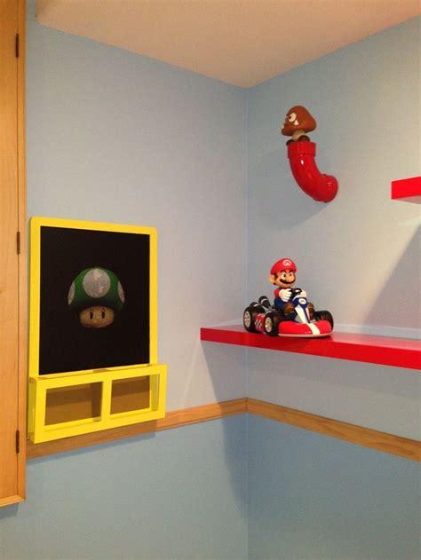 Mario Bros Bedroom by Mario Brothers Decor Mario Bros Room Decor
