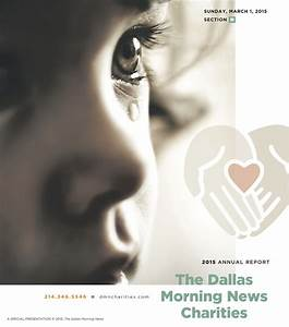 The Dallas Morning News Charities 2015 Annual Report - The ...