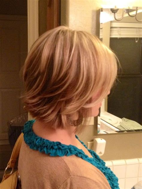 view  short layered bob cut easy daily hairstyle