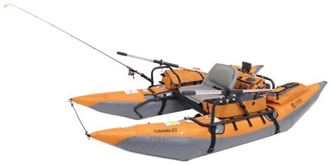 Classic Accessories Colorado Xt Inflatable Pontoon Boat by Classic Accessories 9 Pontoon Boat With Transport Wheel