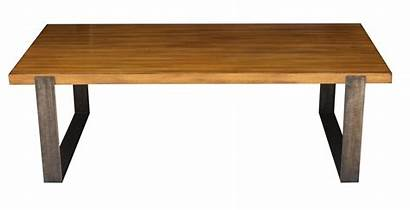 Coffee Wood Metal Tables Wooden Furniture Solid