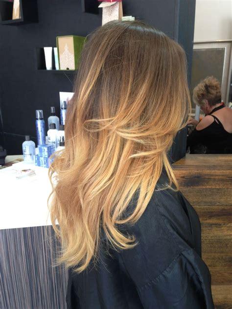 Light Brown To Golden Blonde Ombre Hair Pinterest My