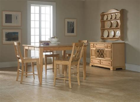 light colored dining room sets broyhill furniture color cuisine light wood counter height