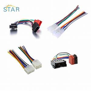 China Pioneer Car Radio Stereo 12 Pin White Iso Wiring